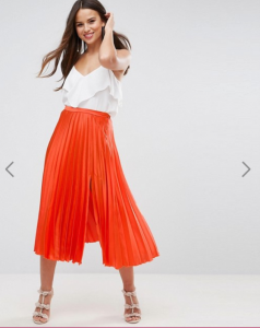 Accordion Skirt ASOS