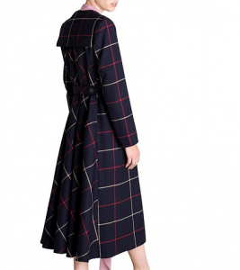Tartan Winter Coat