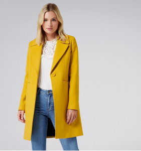 Winter Coats Forever New Ochre