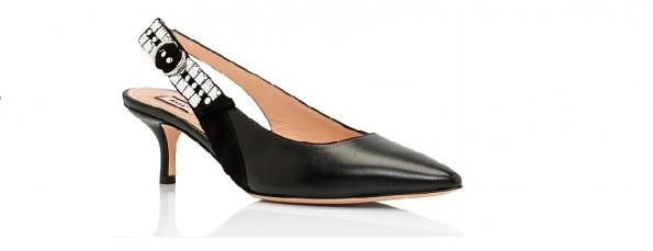 Bally slingback heel