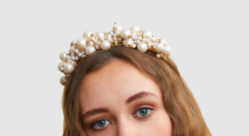 Ford millinery pearl tiara