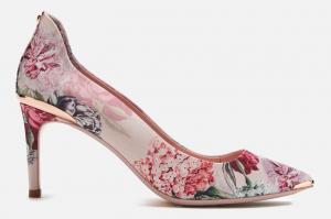 Ted Baker floral heels
